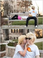 Homestuck: A Kiss On the Cheek by CosplayerWithCamera