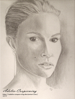 Woman Sketch by Adelia-Cooperwing