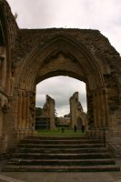 Glastonbury Abbey 12 by FoxStox
