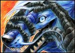 ElorenLeianor-aceo by soulwithin465