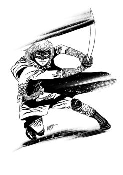 Hit Girl by raphalobosco