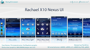 Rachael X10 NEXUS UI by FlamEmo