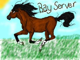 Bay Horse by WolfsSongForever
