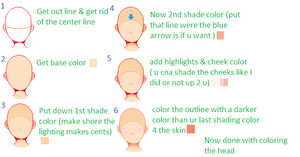 Pixel Head Coloring Tutorial by shaeshaesweet
