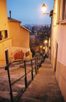 Stairs, outdoor by gugusse