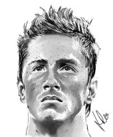 Fernando Torres Digital Art by jonsink