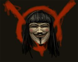 V for Vendetta by slur