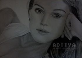 Keira Knightley by AdiLABS