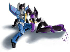 TF: Pin up Seekers by Uniformshark