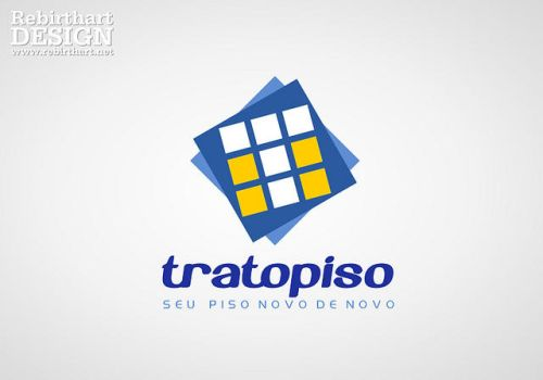 Logotipo - Tratopiso by RebirthArt