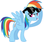 Rainbow Dash - Dash With It by MysteriousKaos