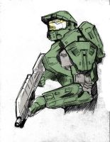 Halo Spartan by wildcats25