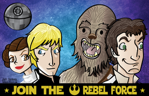Star Wars Heroes by ViciousJulious