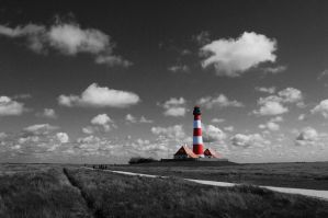 Westerhever Lighthouse CK by BilderAusNF
