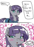 Maud Pie Rocks by AmostheArtman