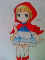 My Little Red Riding Hood :3 by jarild12