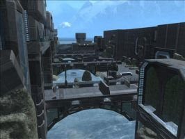 Halo Reach Map: Canals by KindiChan