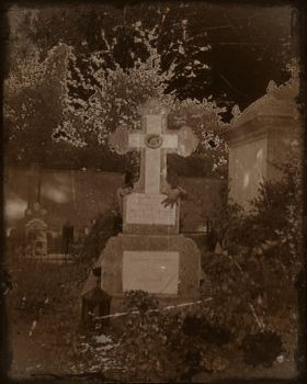 Ghost in the cemetery by TacereaMortuara