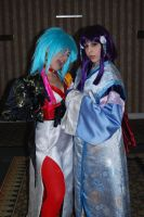 Ryoko and Princess Ayeka by LilithOya