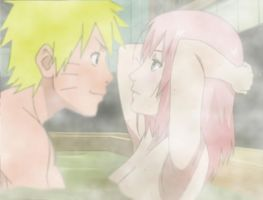Narusaku onsen V2 by Bleach-Fairy