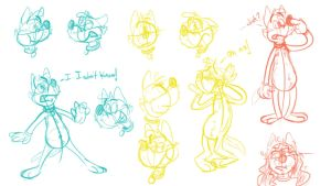 Silly doodles 16 by valdo-wolf