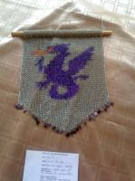 Chainmail Dragon Tapestry by Ethril-Dragon