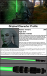 Yit'tara Profile - Star Wars OC by Padme4000