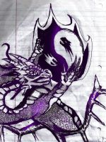 Dragon Ying and Yang by HummingHare