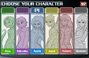 Select Your Character -WIP- by MOOMANiBE