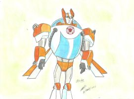 Blades tfs recue bots animated style by ailgara