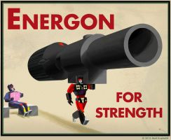 Energon for strength by Astro-L