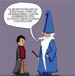 Harry Potter and Merlin by Neyebur