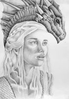 Khaleesi, Mother Of Dragons by ApostolosG