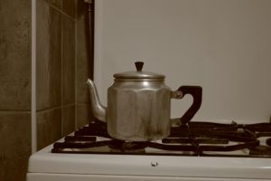 Tea kettle stock by Metropolis-Decay