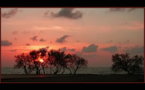 Tramonto in rosso by Amersill