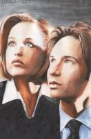 The X-Files - in color by shintetsuya