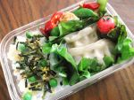 Dumpling Bento by blackfacet