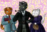 Catlock Holmes by Deathlydollies13
