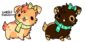 Dog Adopts Name Your Price -Closed- by Furry-Adopts576