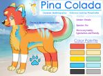 Pina Colada Reference - Commission by PrinceCraftie