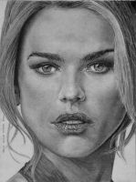 Alice Eve as Carol Marcus by otong666