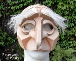 Pantalone Commedia Mask by Alyssa-Ravenwood