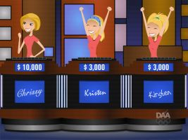 6TEEN on Jeopardy--REMAKE 3 by daanton