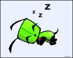 Gir Sleeps by Slash-Free-JCV