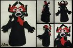 Aku Plush by TrueAlaso