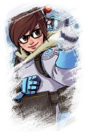 Overwatch Mei by PumaDriftCat