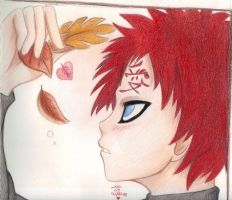 Gaara - Love in Autumn by Phoelion