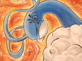 Altaria - Close up by ArwingPilot114