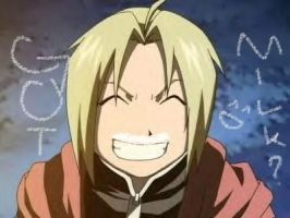 Got Milk? Edward Elric xD by HatsuneMiku54