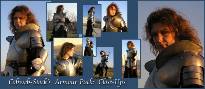 Armour Pack Close-Ups by Cobweb-stock